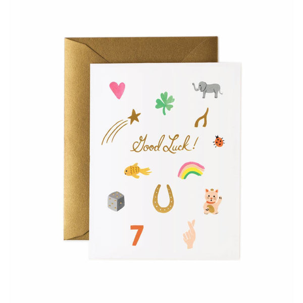 Good Luck Card - Rifle Paper Co