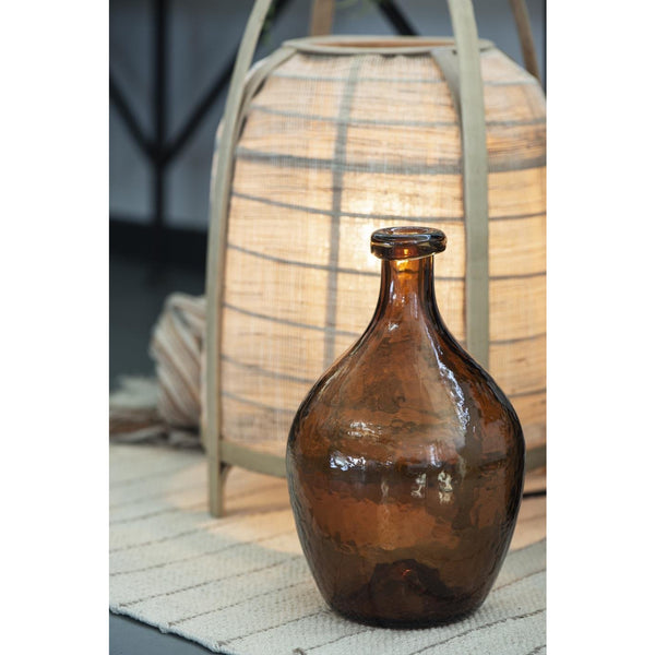Brown Balloon Vase