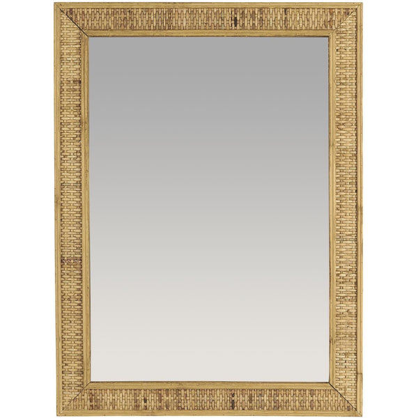 Bamboo Braid Mirror