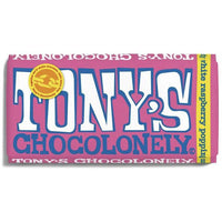Tony's Chocolonely - White Raspberry Popping Candy