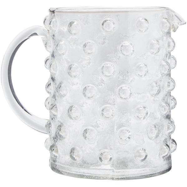 Dotty Glass Jug