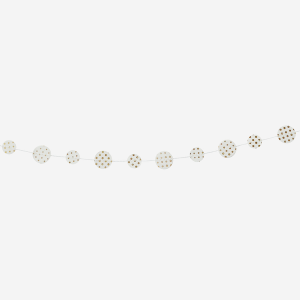 Dotty Circle Garland