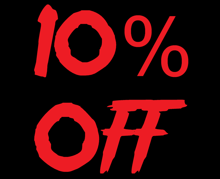10% off in Feb
