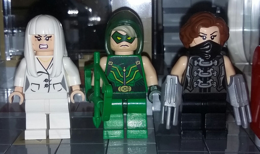 China White, Green Arrow, Scandal Savage