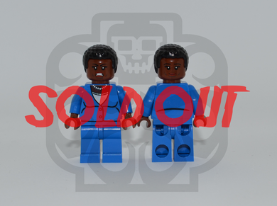 AMANDA WALLER Custom PAD PRINTED Minifigure