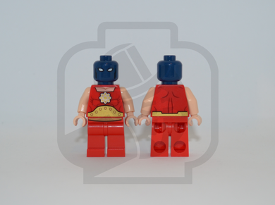 ATOM SMASHER Custom PAD PRINTED Minifigure