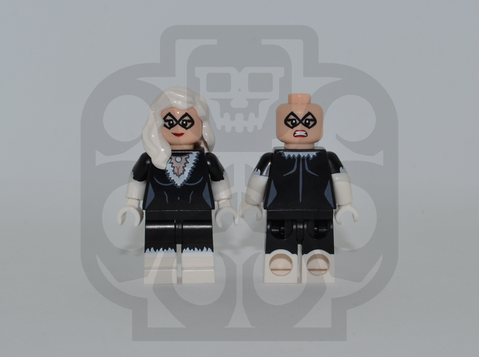 BLACK CAT Custom PAD PRINTED Minifigure