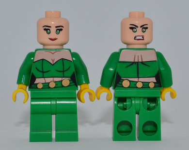 FIRE Minifigure MISPRINT Green