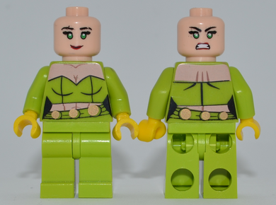 FIRE Minifigure MISPRINT Lime