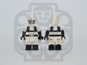 THE GHOST Custom PAD PRINTED Minifigure