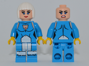ICE Minifigure MISPRINT Dark Azure