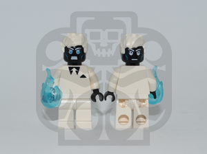 MR. NEGATIVE Custom PAD PRINTED Minifigure