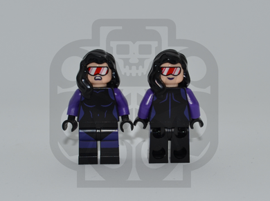 NIGHTSHADE (Light Flesh) Custom PAD PRINTED Minifigure