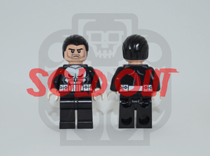 THE PUNISHER V1 Custom PAD PRINTED Minifigure
