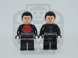 THE PUNISHER (THUNDERBOLTS) Custom PAD PRINTED Minifigure