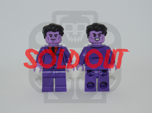 PURPLE MAN V2 Custom PAD PRINTED Minifigure
