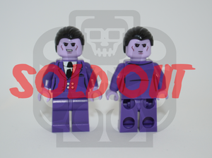 PURPLE MAN V1 Custom PAD PRINTED Minifigure