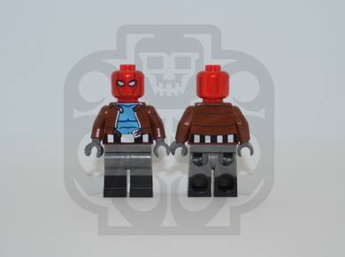 RED HOOD Custom PAD PRINTED Minifigure