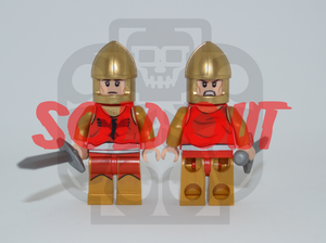 SHINING KNIGHT Custom PAD PRINTED Minifigure