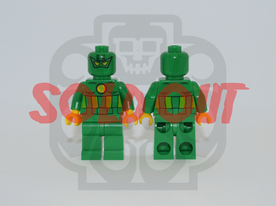 SUPER-ADAPTOID Custom PAD PRINTED Minifigure
