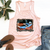 Summertime blues tank