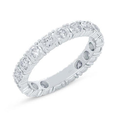 White Gold Eternity Diamond Band | 1.22 Carat Total Weight