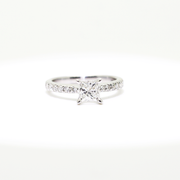 White Gold Solitaire Diamond Engagement Ring | 1.05 Carat Total Weight -  MarquiseJewelers