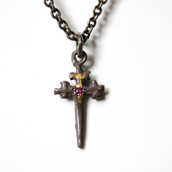 Illuminated Sword with Ruby Necklace - Machinations