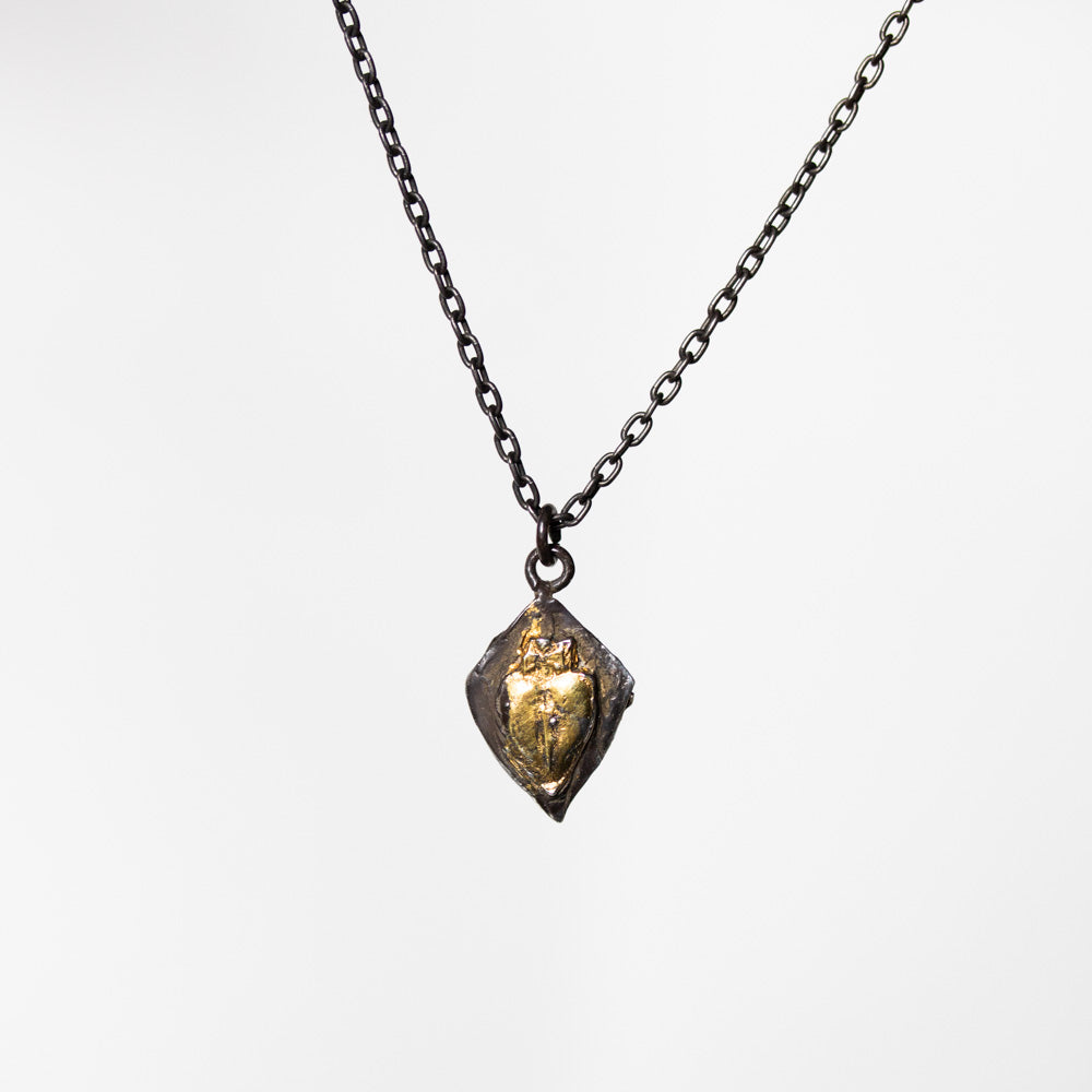 Knight Amulet Stabbed Heart