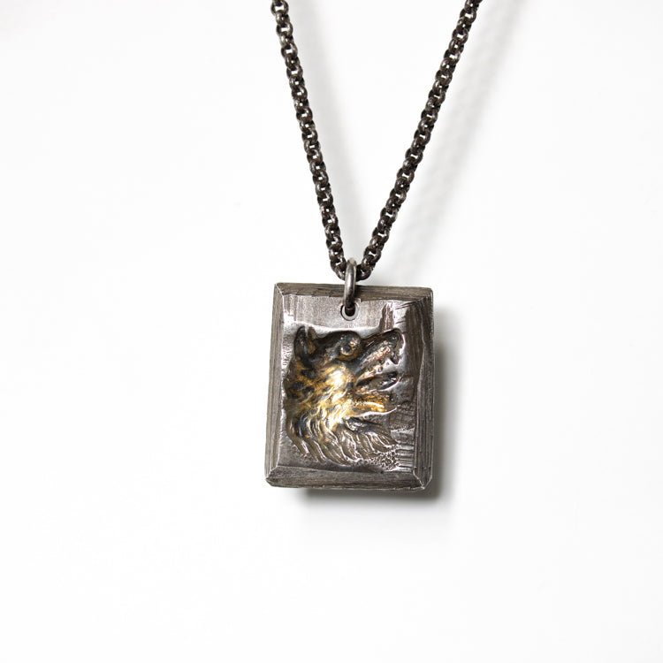 Illuminates Wolf Tag Necklace - Machinations