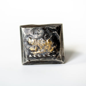Illuminated Boar Signet Ring - Machinations