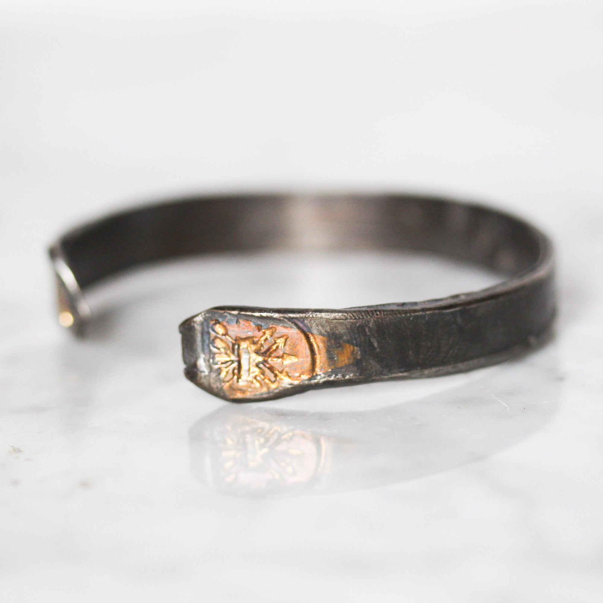 Crown and Arrows Cuff