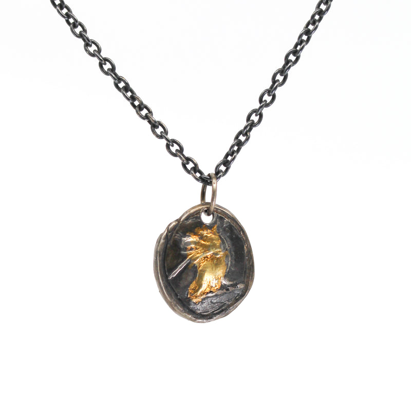 Hunted Wolf Necklace