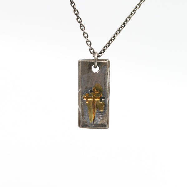 Sword of the Righteous Tag Necklace