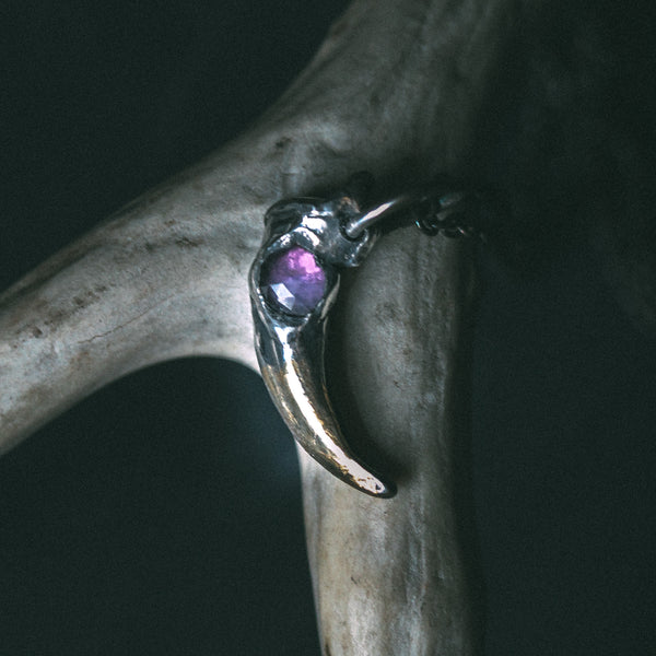 Lupus Spiritus Claw with Amethyst