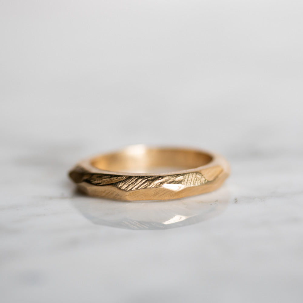 Terra Firma Earth Gold Ring