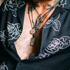 Illuminated Sword of the Righteous Tag Necklace - Machinations