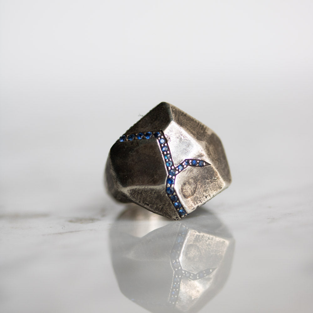 Terra Firma Water Signet Ring