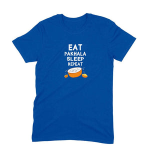 Eat Pakhala Sleep Repeat Men's Tshirt