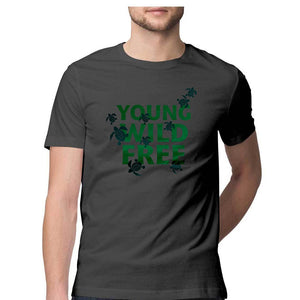 Young Wild Free - Olive Ridley Unisex TShirt