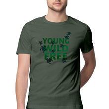 Load image into Gallery viewer, Young Wild Free - Olive Ridley Unisex TShirt