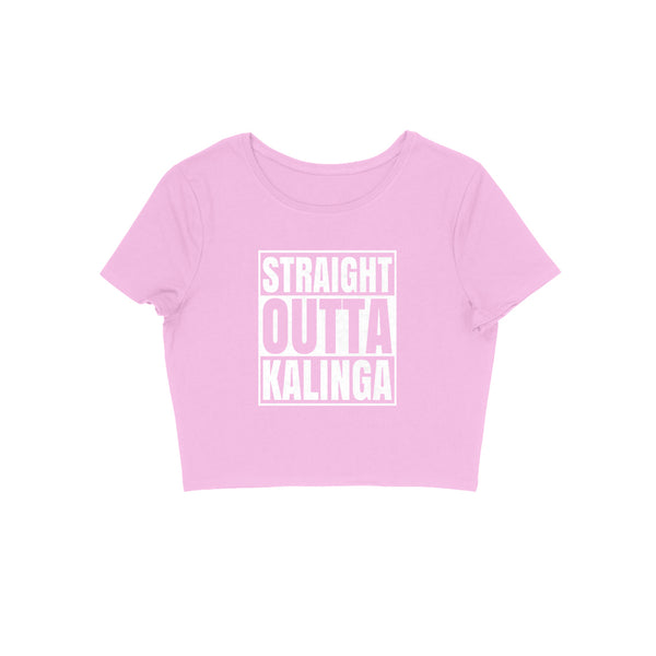 Straight Outta Kalinga Women's Crop Top