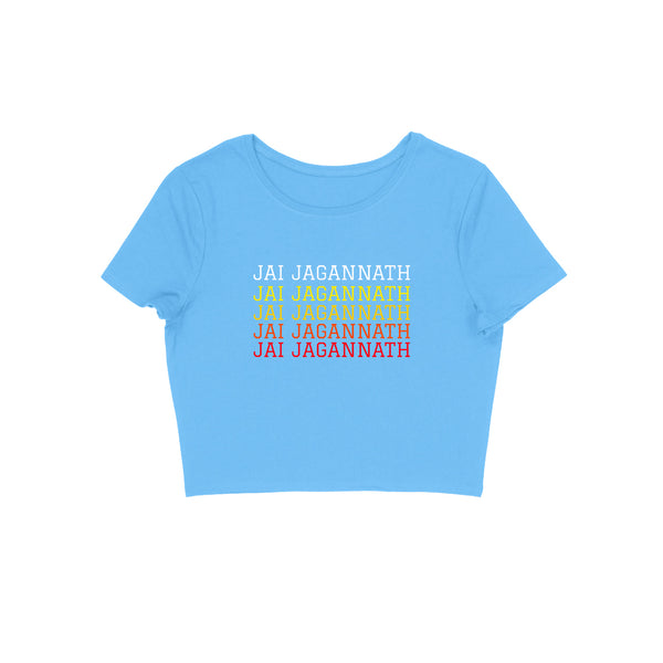 Jai Jagannath Women's Crop Top