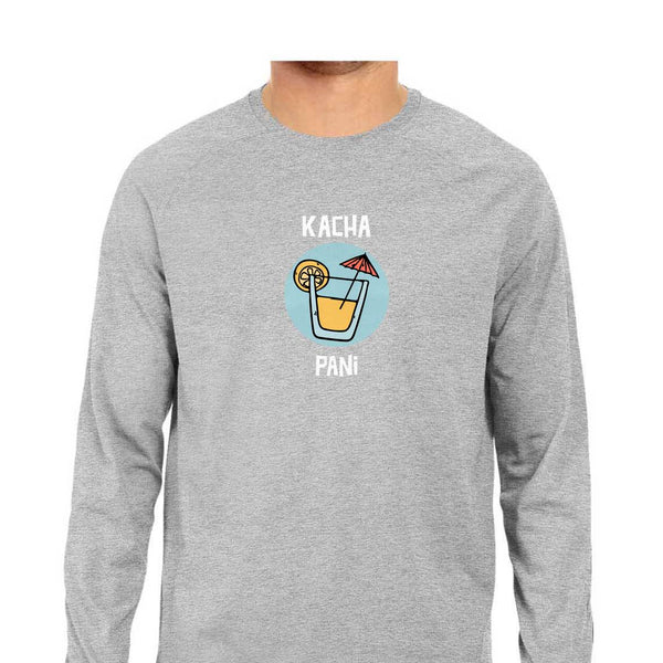 Kacha Pani Men's Long Sleeve Tshirt