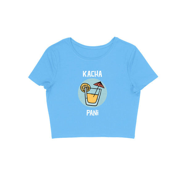 Kacha Pani Women's Crop Top