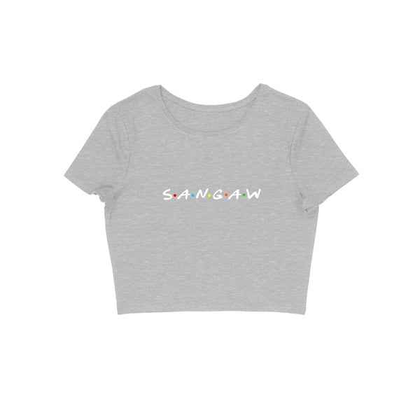 SANGAW (FRIENDS DESIGN) Women's Crop Top
