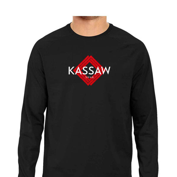 KASSAW Men's Full Sleeve Tshirt