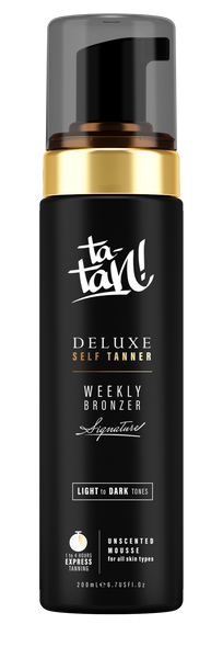 Ta-Tan! Weekly Bronzer Deluxe Self Tanner <br><b>(1 Hour Express)</b>