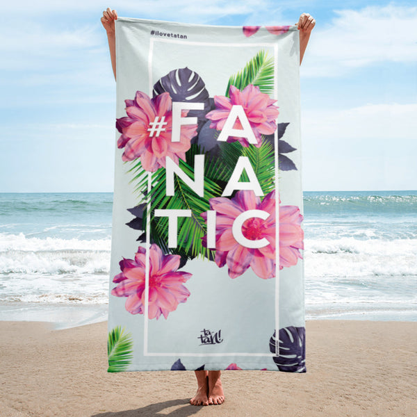 Ta-Tan! Microfiber Towel #FANATIC <br><b>(Limited Edition)</b>