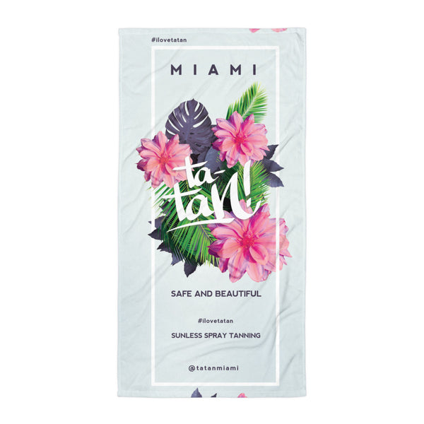 Ta-Tan! Miami Beach Towel Exotic Flowers <br><b>(Limited Edition)</b>